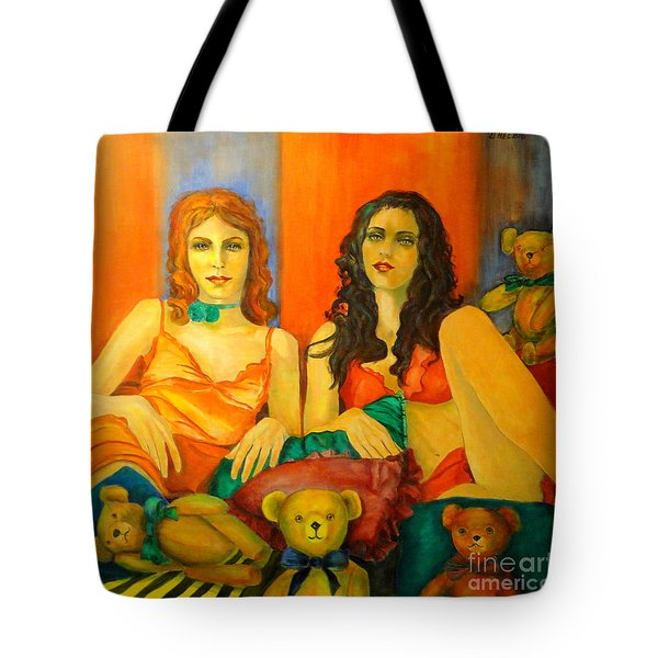 Toys Tote Bag by Dagmar Helbig