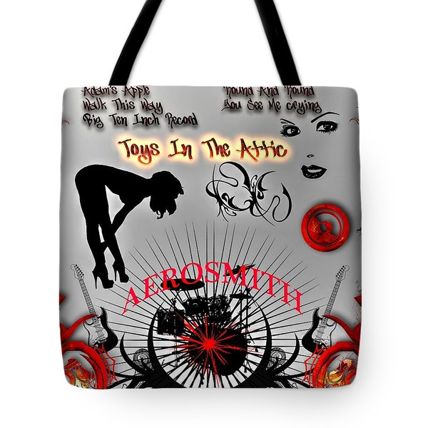 Toys In The Attic Tote Bag by Michael Damiani