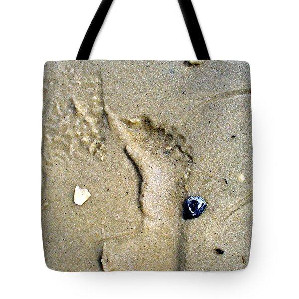 Traces Tote Bag