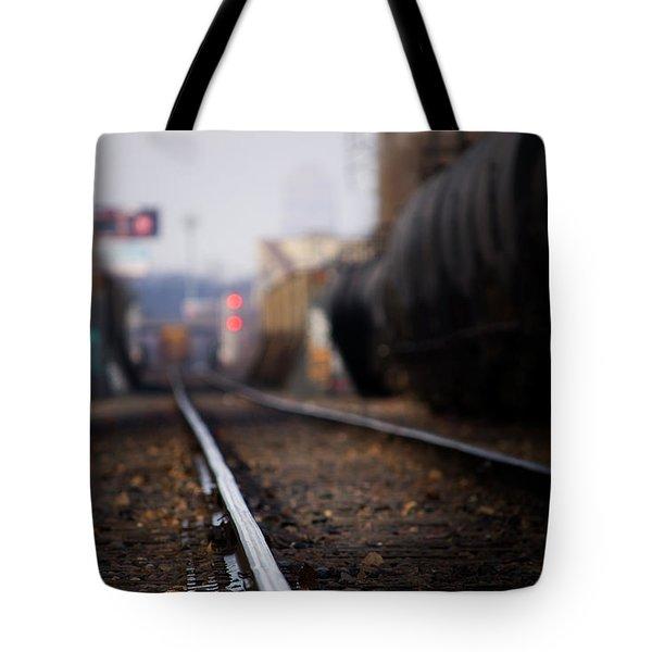 Track Life Tote Bag