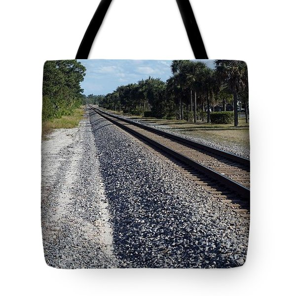 Tracks Hobe Sound, Fl Tote Bag
