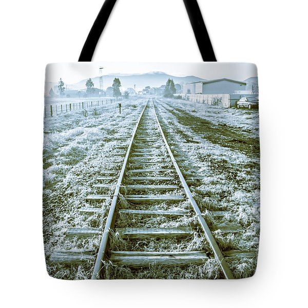 Tracks To Travel Tasmania Tote Bag