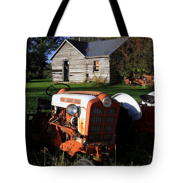 Tractor And Shed Tote Bag