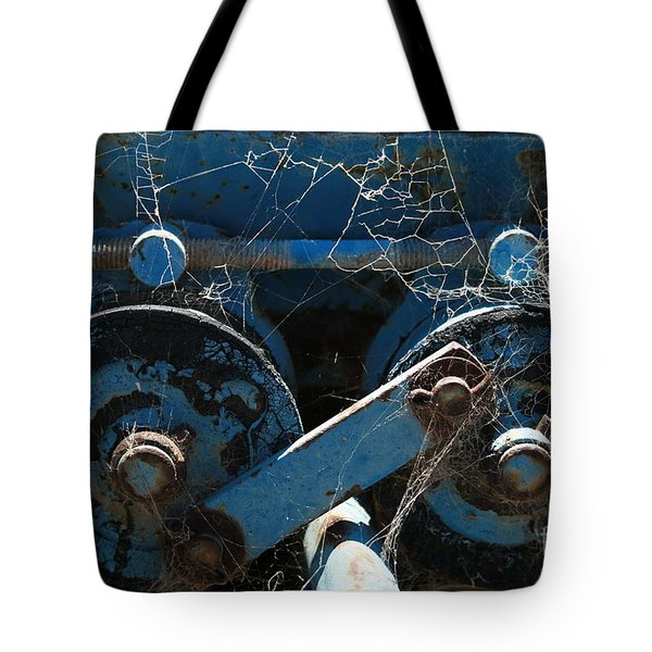 Tote Bag featuring the photograph Tractor Engine IIi by Stephen Mitchell