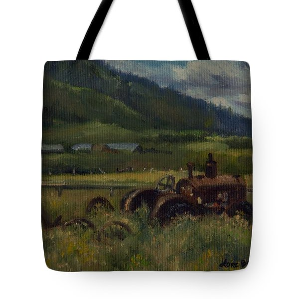 Tractor From Swan Valley Tote Bag