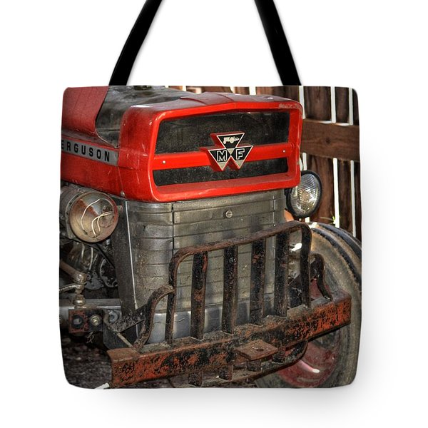Tractor Grill  Tote Bag