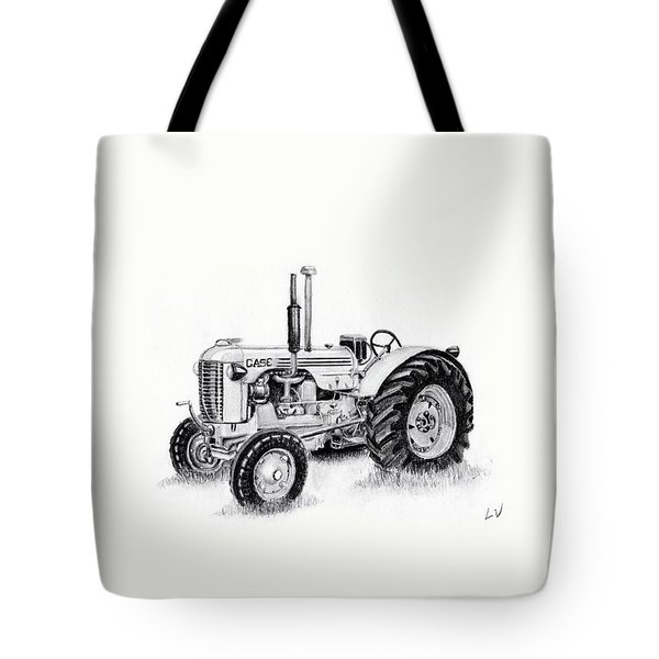 Case Tractor Tote Bag