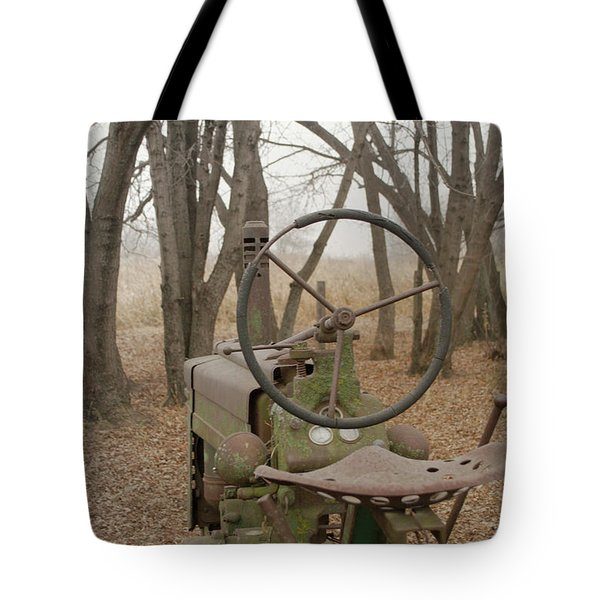 Tractor Morning Tote Bag