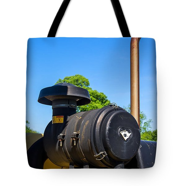 Tractor Pipe Tote Bag