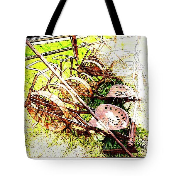Tractor Seats Tote Bag