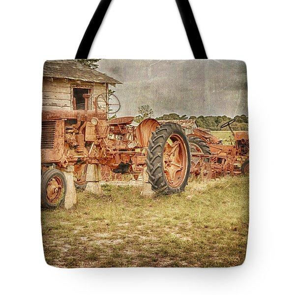Tractors Tote Bag