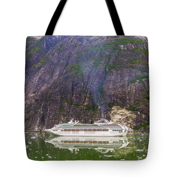 Tracy Arm Fjord Tote Bag