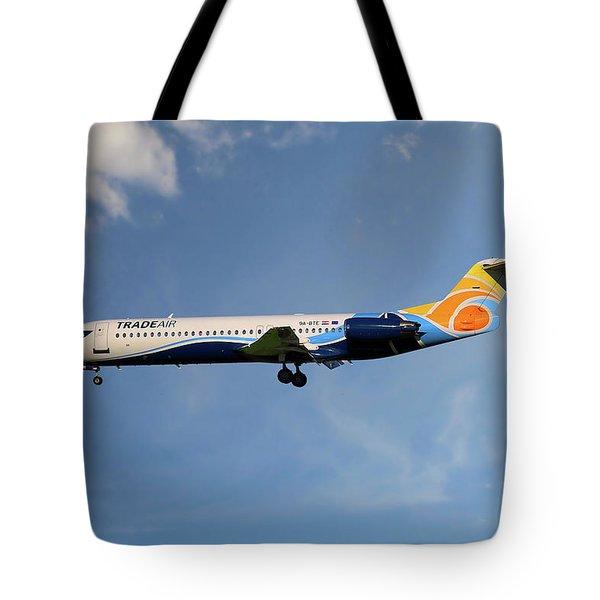 Trade Air Fokker 100 Tote Bag