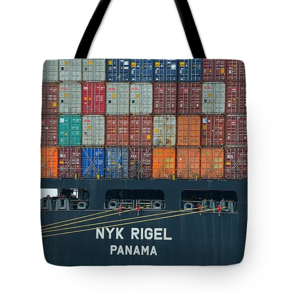 Tote Bag featuring the photograph Trade by Steven Richman
