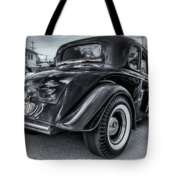 Tradional Hot Rod Tote Bag by Ken Morris