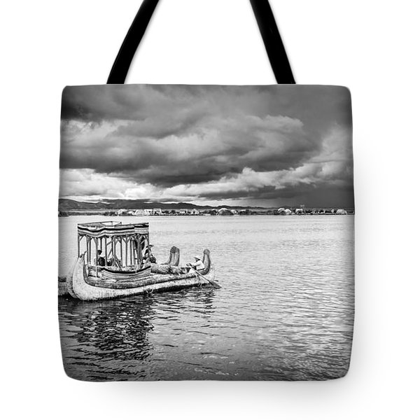Traditional Boat Tote Bag