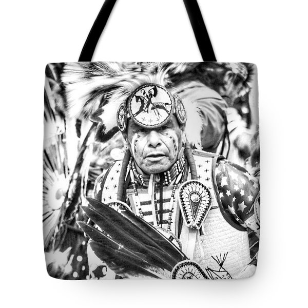 Traditional Dancer  Tote Bag by Clarice Lakota
