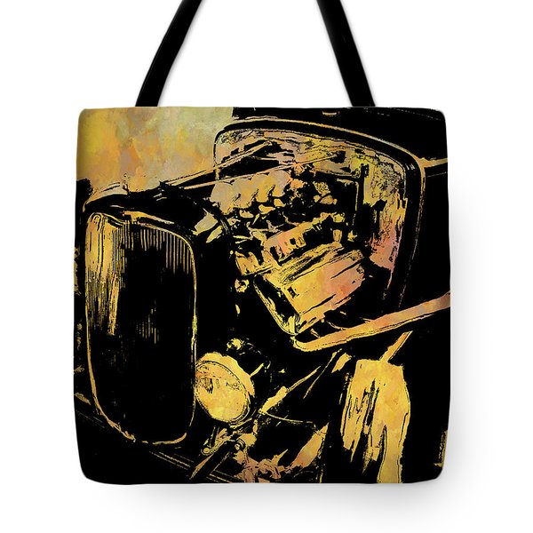 Traditional Hemi Rust Tote Bag