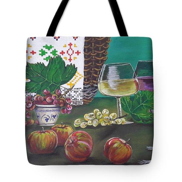 Traditional Holiday Tote Bag