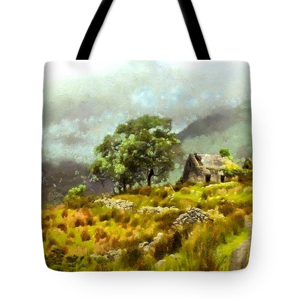 Traditional Ireland Tote Bag