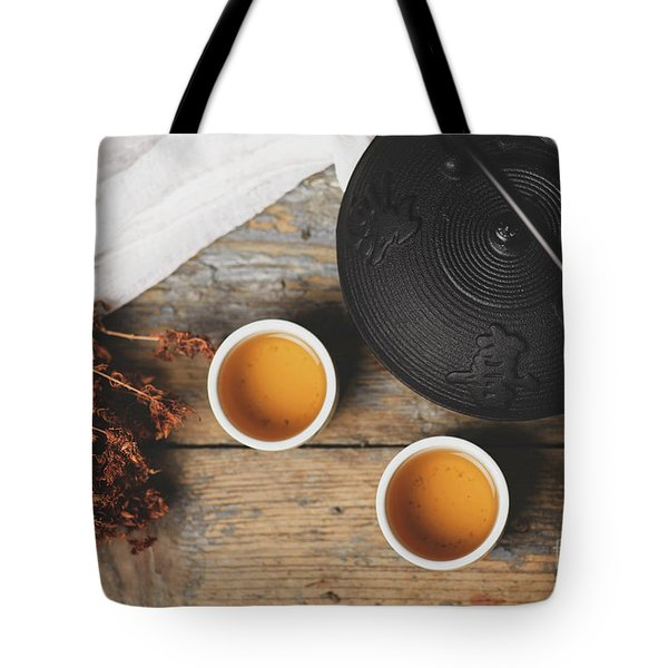 Traditional Japanese Tea Tote Bag