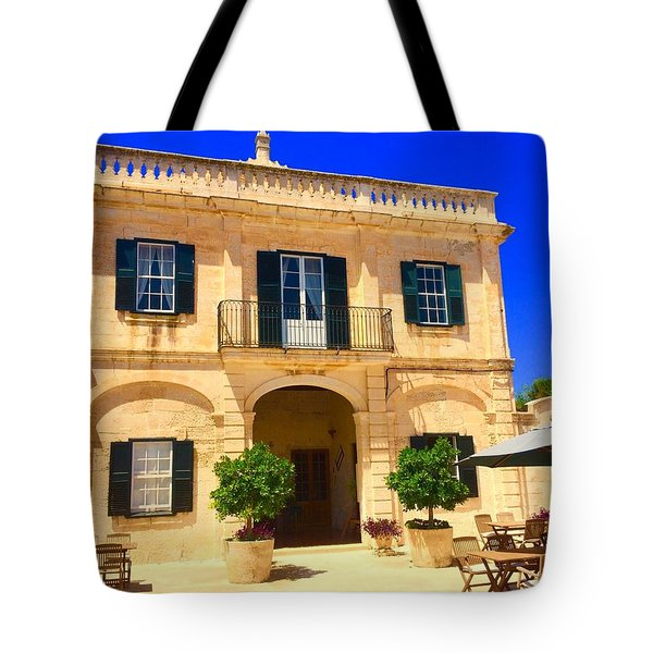 Traditional Menorcan Farmhouse Tote Bag