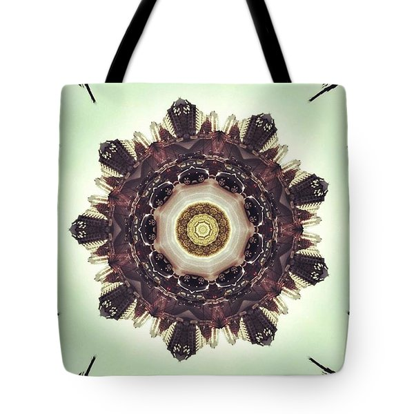 Traffic On The Road Tote Bag