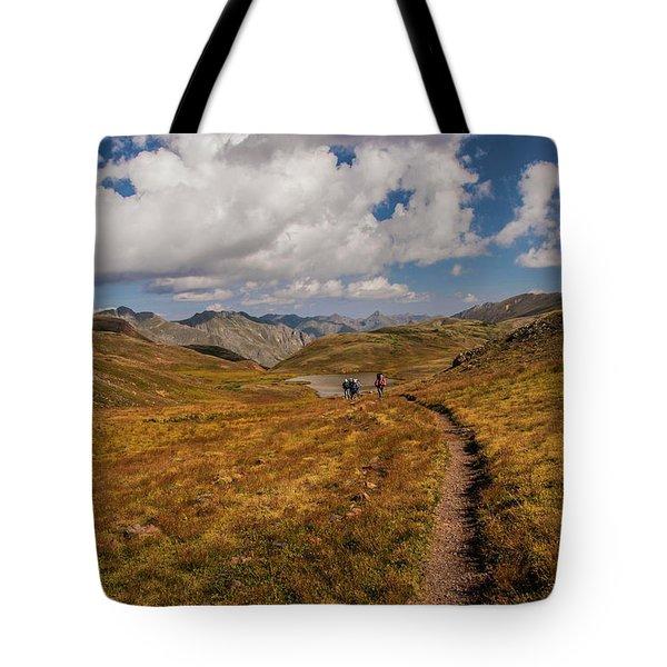 Trail Dancing Tote Bag