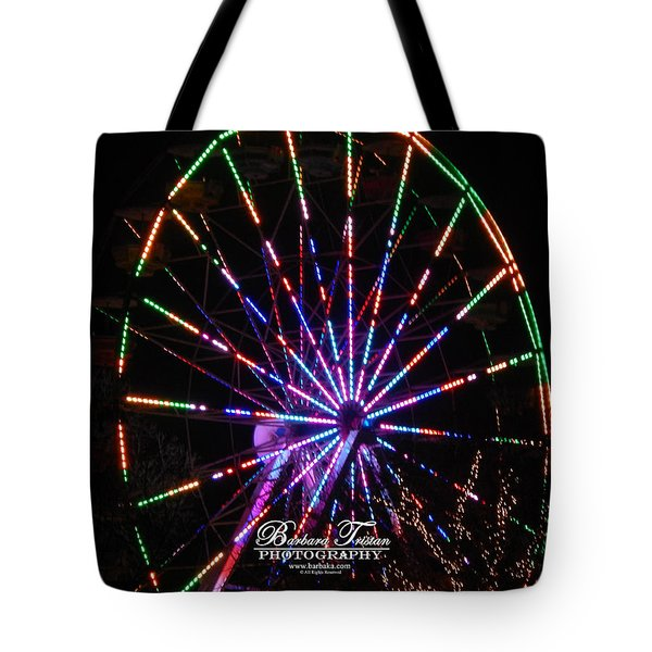 Trail Of Lights #7427 Tote Bag