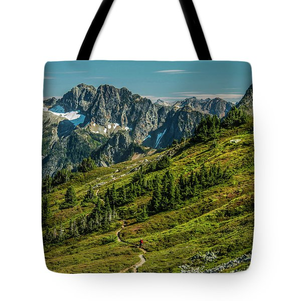 Trail Roaming Tote Bag