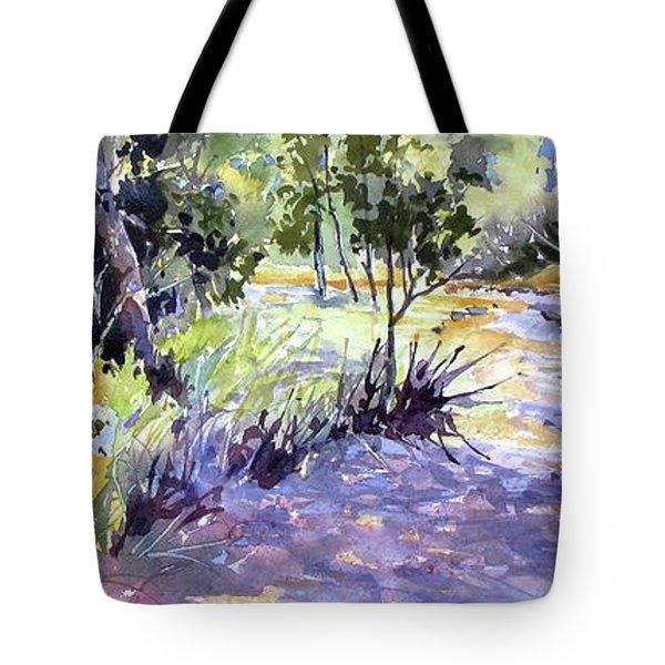 Trail Shadows Tote Bag