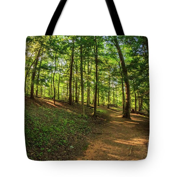 Trail To John Oliver Cabin Tote Bag