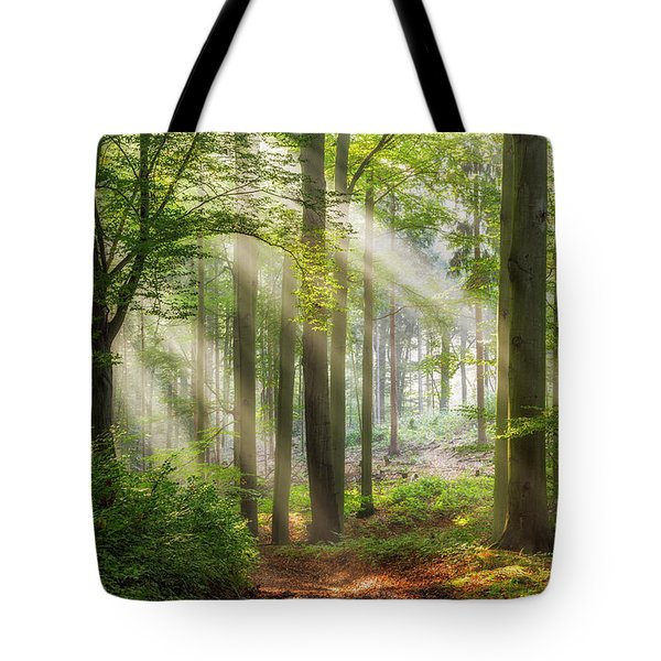Trail To Relaxation Tote Bag