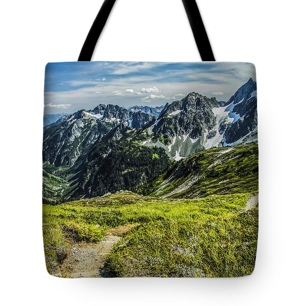 Trail To Stehekin Tote Bag