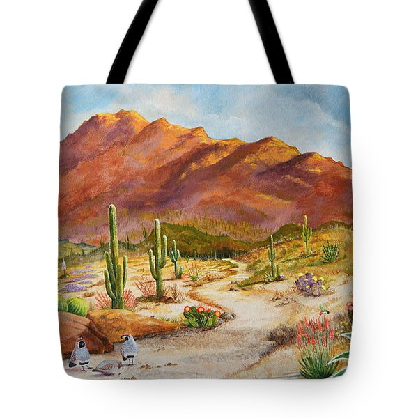 Trail To The San Tans Tote Bag