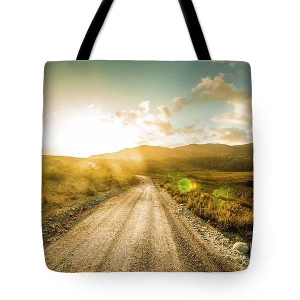 Trail To Trial Tote Bag