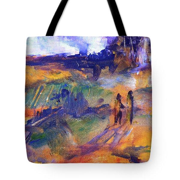 Trail Walk Tote Bag