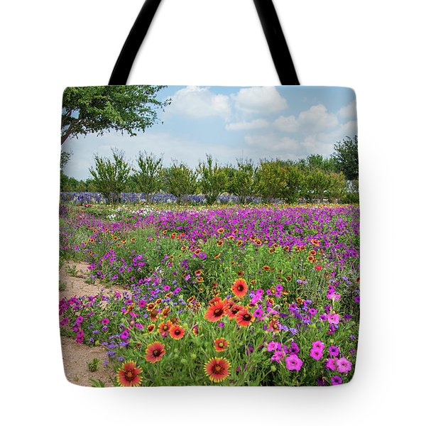 Trailing Beauty Tote Bag