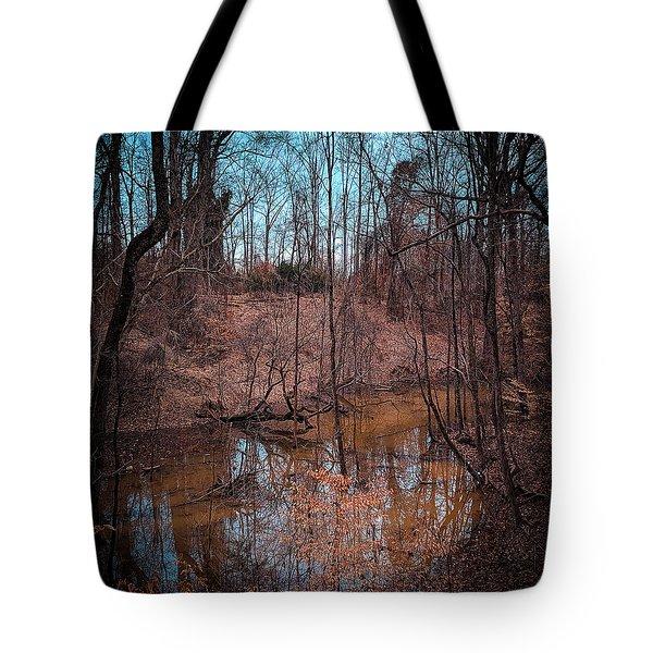 Trailing Creek Tote Bag