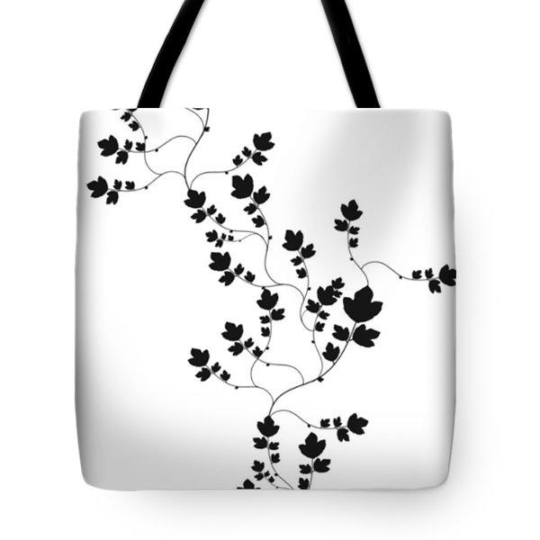 Trailing Leaves Tote Bag