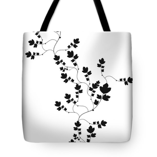 Trailing Leaves Tote Bag
