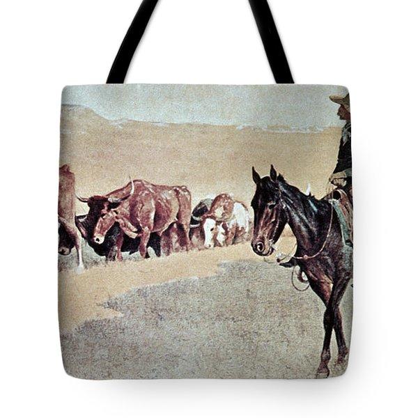 Trailing Texas Longhorns Tote Bag