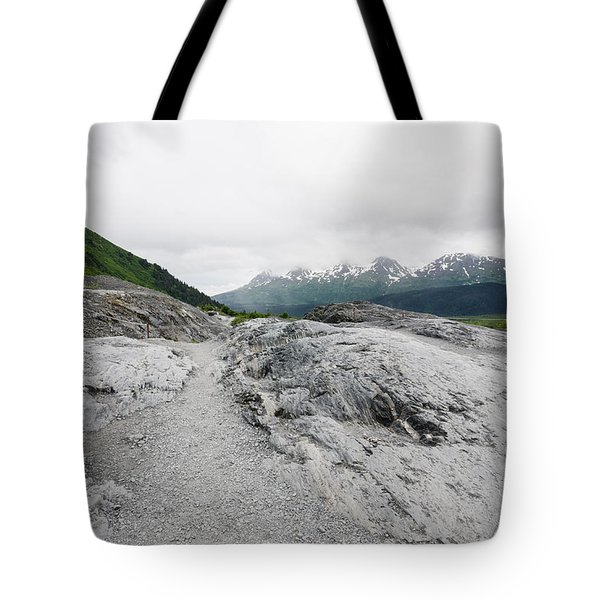 Trails In Alaska Tote Bag