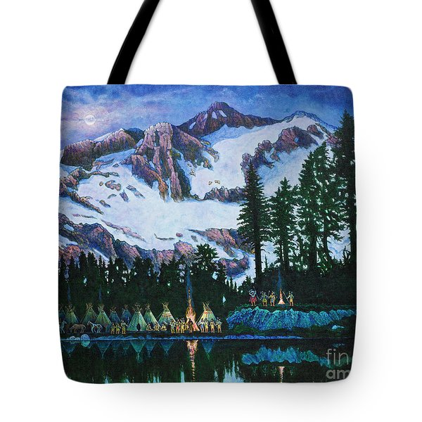 Trails West II Tote Bag by Michael Frank