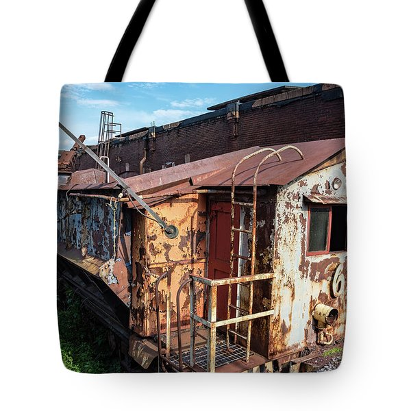 Train 6 In Color Tote Bag