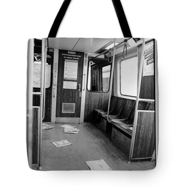 Train Car  Tote Bag