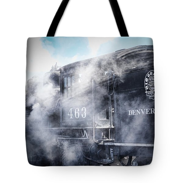 Train Engine 463 Tote Bag