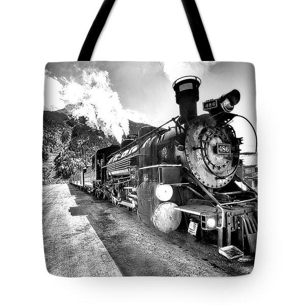 Train Nin Silverton Colorado Tote Bag