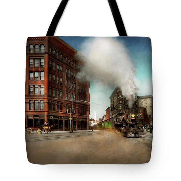 Train - Respect The Train 1905 Tote Bag by Mike Savad