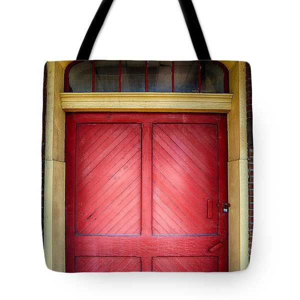 Train Station Doorway Tote Bag
